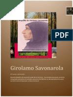 Biografía de Savonarola 11-08-2013