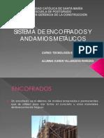 TECNOLOGIAS ENCOFRADOS METÁLICOS