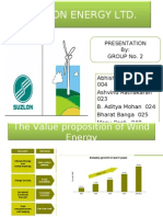 Marketing Mix_Suzlon