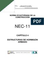 Nec2011 Cap.4 Estructuras de Hormigon Armado 021412
