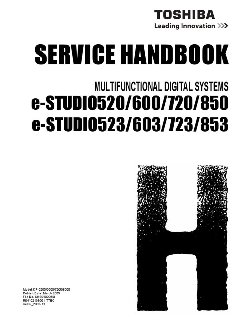 toshiba e studio281c 351c 451c service parts list
