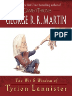 The Wit & Wisdom of Tyrion Lannister by George R.R. Martin,Excerpt