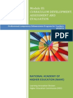 Curriculum Development, Assessment and Evaluation.pdf