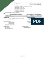 Múltiplos Registros de Membro078