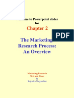 The Marketing Research Process an Overview