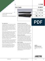 Sorensen DCS Datasheet