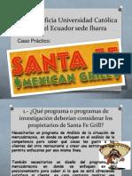Caso Practico Santa Fe Grill