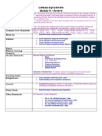 6  review linear equations  functions module