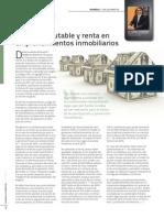 Costo Computable y Renta en Emprendimientos Inmobiliarios