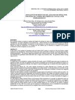 Aevaluacion del desgaste por medio del analisis de señal wavelets de protesis de cadera