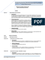 Especificaciones Tecnicas de Data Mariscal Nieto Moquegua
