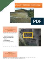 Evaluacion Talud y Obras de Proteccion
