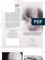 CCHR DSM Pseudoscience and Psychiatry