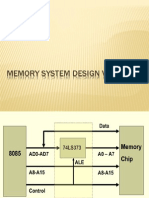 Memory system design with 8085.pdf