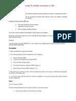 SAP HCM - Introduction - Employee To Vendor Conversion in SAP.doc