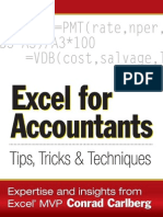 Excel for Accountants Conrad Carlberg