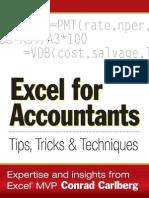 Excel for Accountants Conrad Carlberg