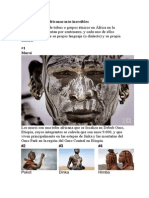Diez Tribus Africanas Increibles