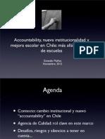 Agenda Nov2012 Cuando Cerrar Gonzalo Munoz
