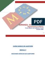 Curso de Auditoría-Modulos I y II