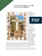 Los 522 beatos de Tarragona, con M. Alcalá, mercedario (J. Millán)