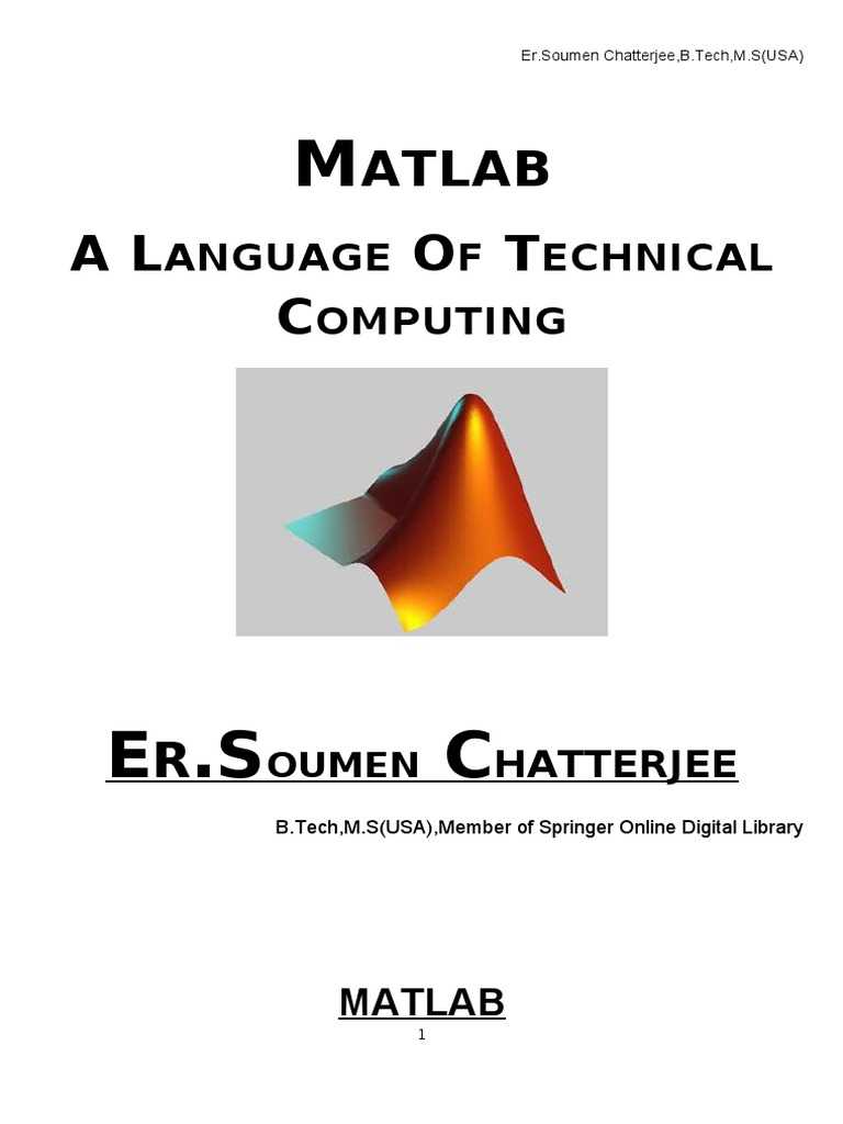 Basics of Matlab-1 doc   Matrix (Mathematics