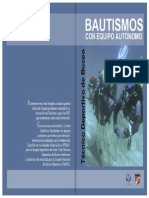 Bautismos de buceo - UD Técnico Deportivo