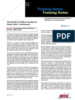 911 Training Technote