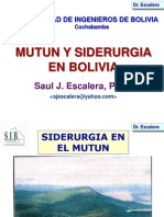 MUTUN Dr. Escalera 2010