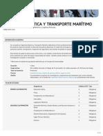Grado en Ingeniería Náutica y Transporte Marítimo (FNB)