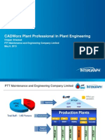 PTTME Cadworx Plant Professional in Plant Engineering