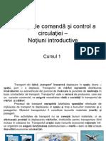 Instalaţii de comandă şi control a circulaţiei