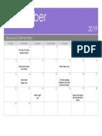 september fake calendar