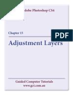 Learning Adobe Photoshop CS4 - Adjustment Layers