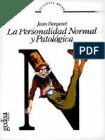 La Personalidad Normal y Patologica (Bergeret)