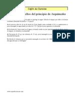 ER Principio de Arquimedes