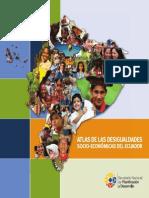 Atlas de Las Desigualdades Socio Económicas del Ecuador