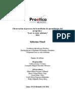 Informe Final - Veeduria LEA
