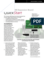 Scanner 2000 Expansion Board Quick Start Guide (PDF)