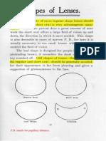 Shape of Lenses