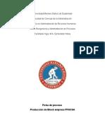 Proceso de Producción de Block - FFACSA