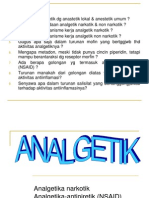 kimia medisinal analgetika
