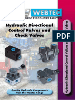 Hydraulic Directional Control and Check Valves