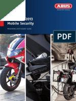 Catalogo Moto 2013 Ingles