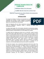 Reporte de Brazon Robotico Cosimir. Marcelino Alexis de Los Santos Cupil. 5to AP.