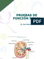 Analisis Clinicos II Prueba de Funcion Renal 2013 II