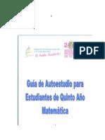 GUIA DE AUTOESTUDIO PARA ESTUDIANTES DE QUINTO AÑO.doc