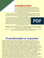 El Posmodernismo2084