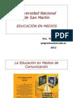 La educación en medios de comunicación