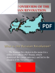 russian revolution overview